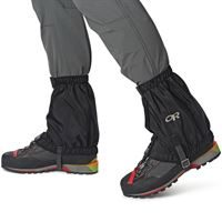 Outdoor Research Rocky Mountain Low Gaiters in use