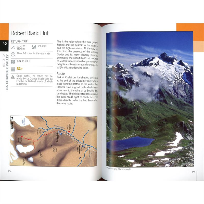Mont Blanc - A Walker's Guide pages