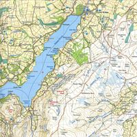 Harvey Ultramap XT40 - Lake District East sample