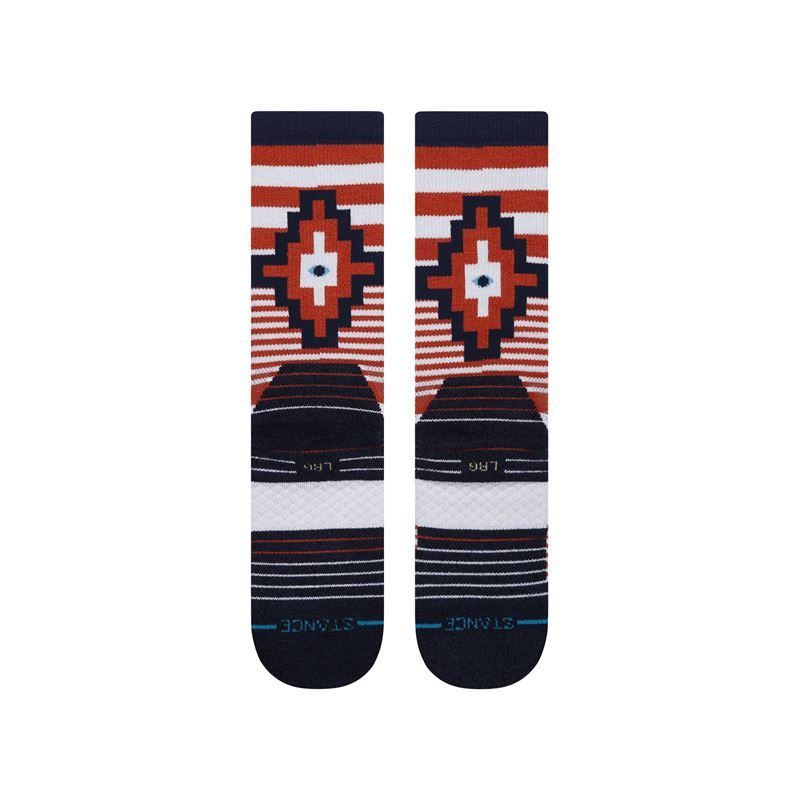 Stance Men's Wallach Crew Burnt Orange