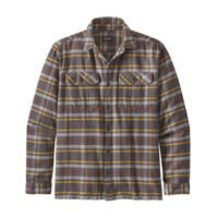 Patagonia Men's Long-Sleeved Fjord Flannel Shirt Independence: Forge Grey