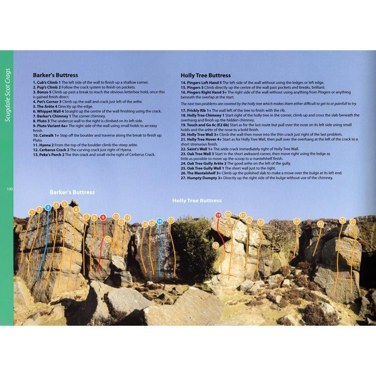 North York Moors and East Coast Bouldering page