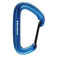 Black Diamond Litewire Karabiner Blue