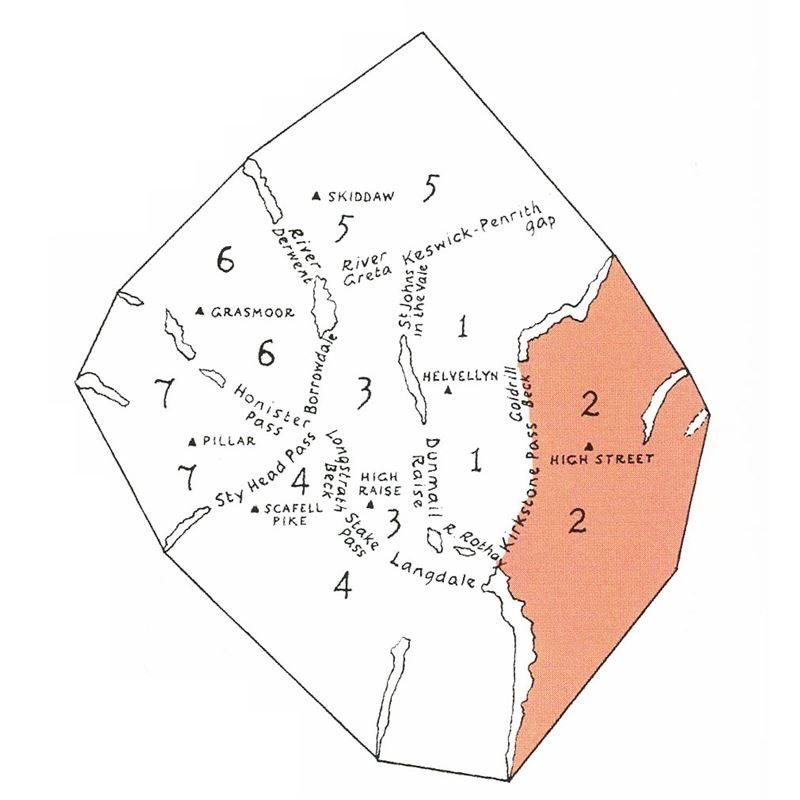 Wainwright - Book 2: The Far Eastern Fells location