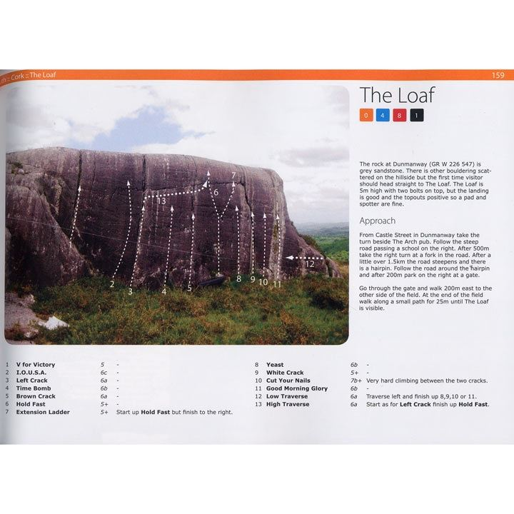 Bouldering in Ireland pages