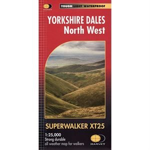 Harvey Superwalker XT25 Yorkshire Dales North West 1:25,000