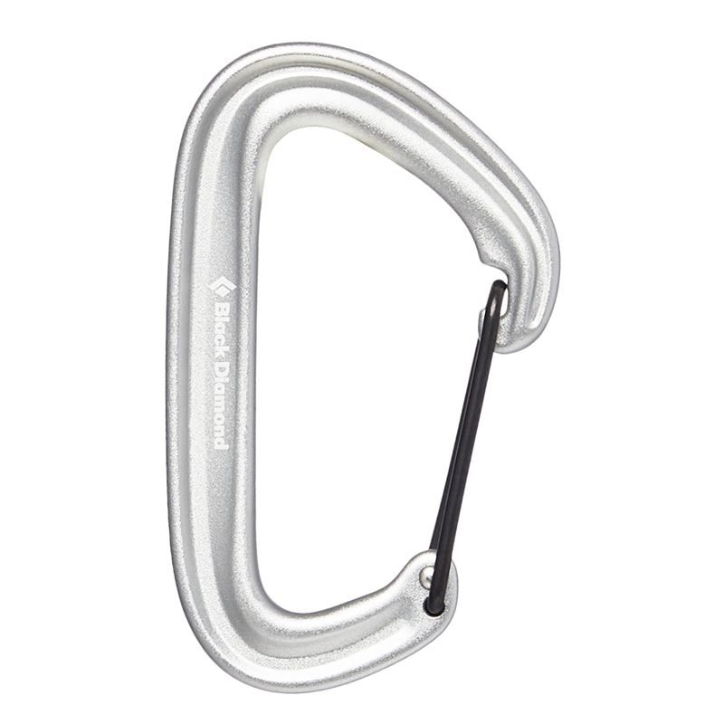 Black Diamond Litewire Karabiner Light Grey