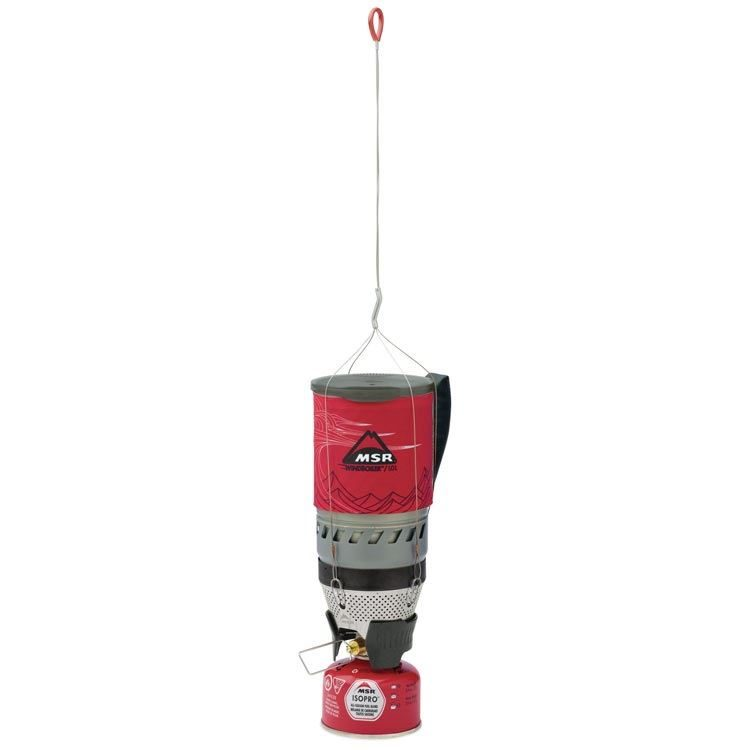 MSR WindBurner Personal Stove System with Hanging Kit (not included)