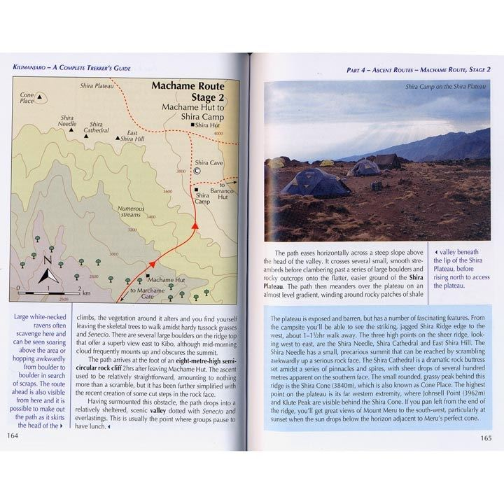 Kilimanjaro - A Complete Trekker's Guide pages