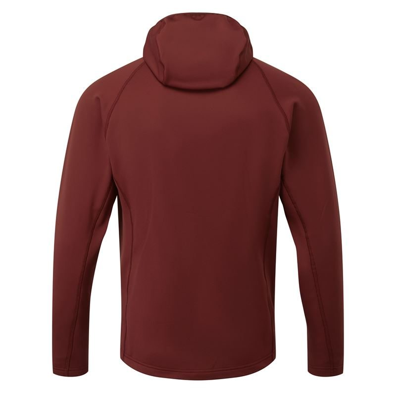 Rab Men's Superflux Hoody Oxblood/Ascent Red