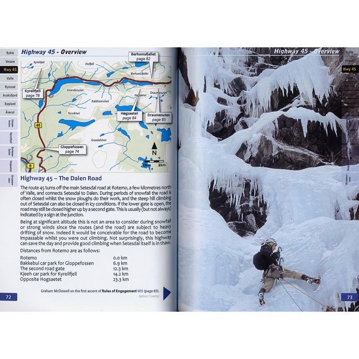 Setesdal Ice pages