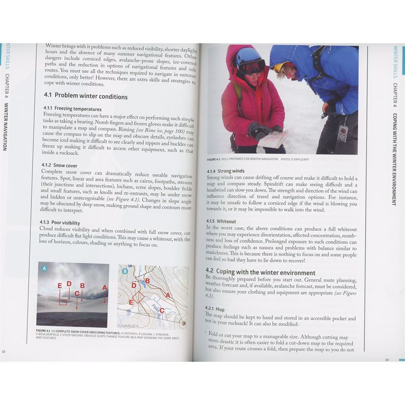 Winter Skills pages