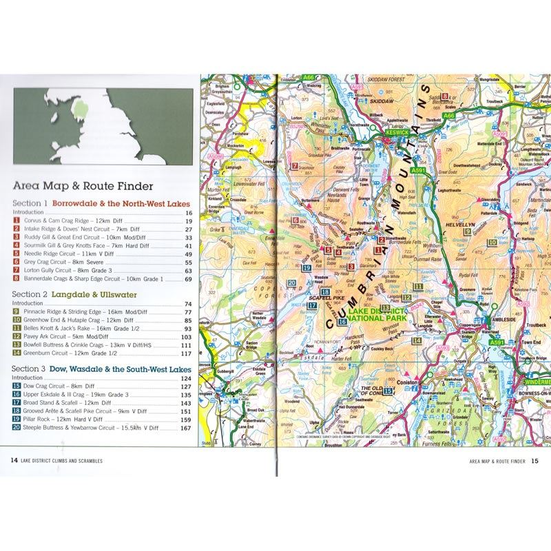 Lake District Climbs and Scrambles coverage
