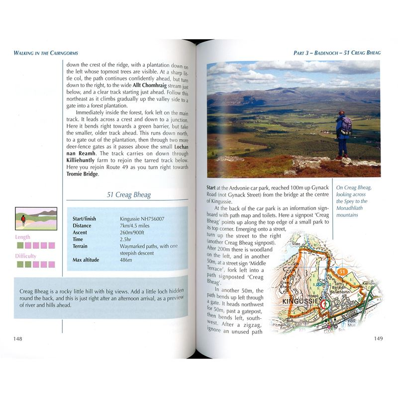 Walking in the Cairngorms pages