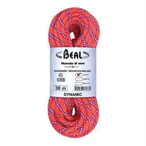Beal Rando 8mm 30m Walkers' Confidence Rope Standard