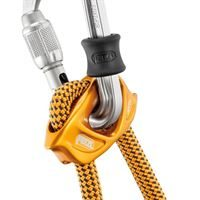 Petzl Dual Connect Adjust in use