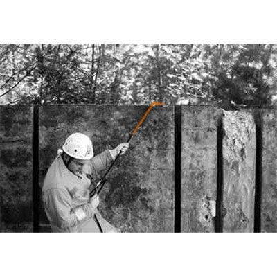 Spiroll Rope Protector in use