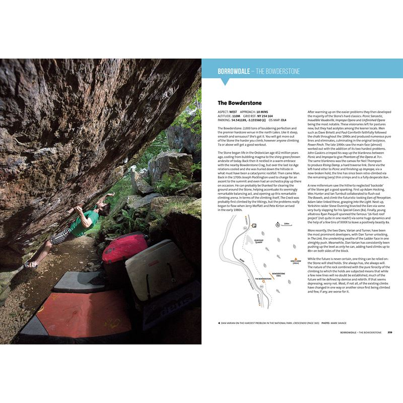 Lake District Bouldering pages