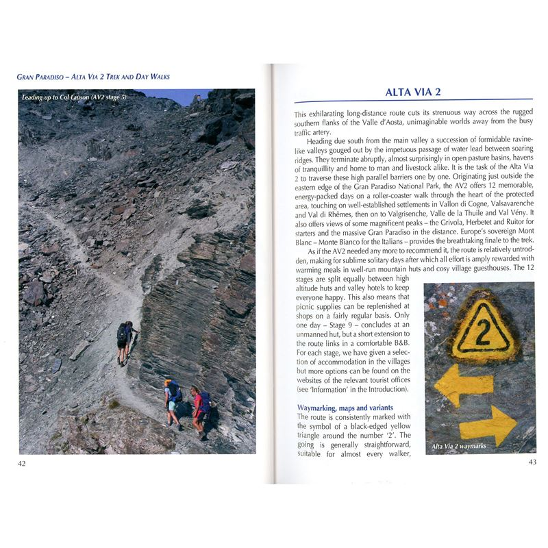 Walking and Trekking in Gran Paradiso pages
