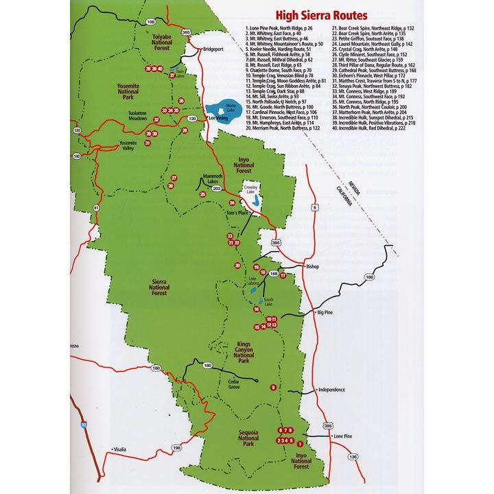 High Sierra Climbing coverage