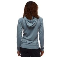 Black Diamond Women's Alpenglow Pro Hoody Storm Blue