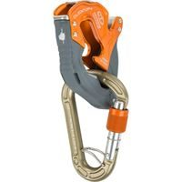 Climbing Technology Click-Up Plus Orange with Concept HMS Screwgate Karabiner