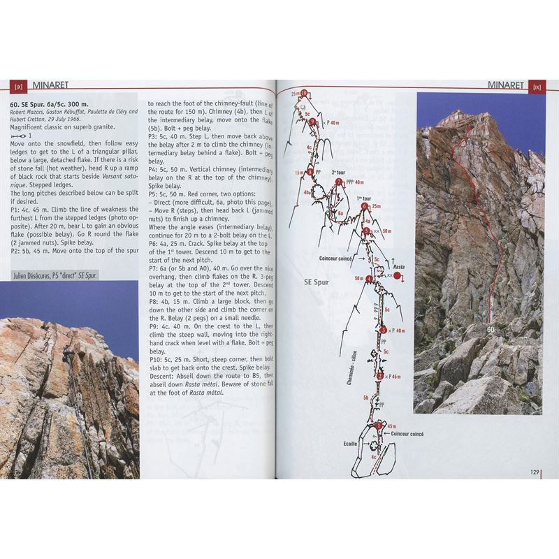 Mont Blanc Granite Volume 1 pages