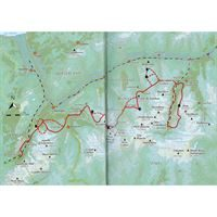 Chamonix to Zermatt map