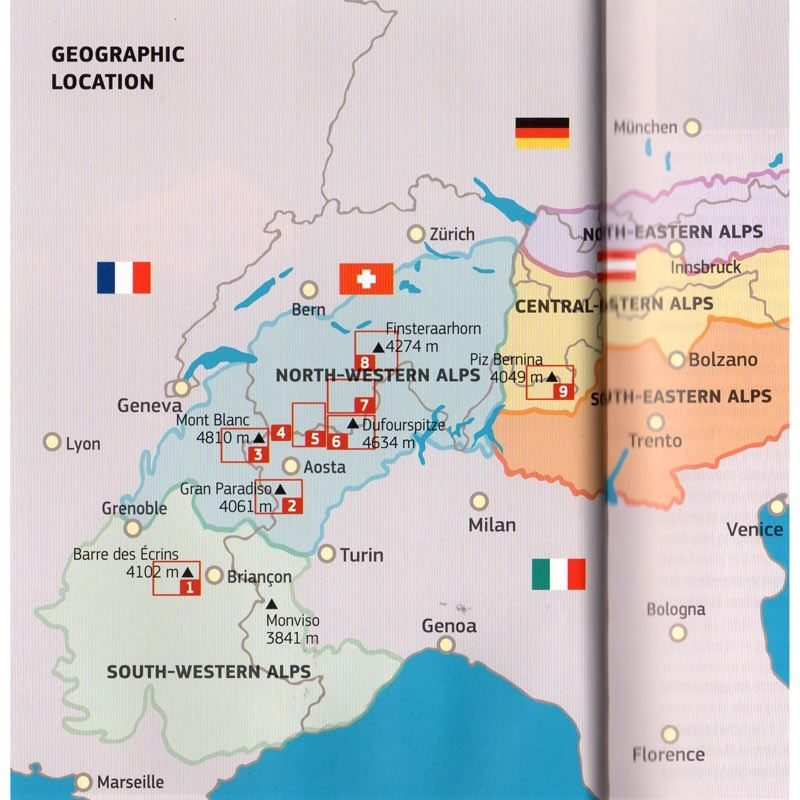 4000m Peaks of the Alps coverage
