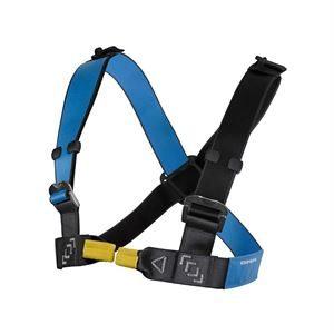 DMM Chest Harness Slidelock Blue/Anthracite