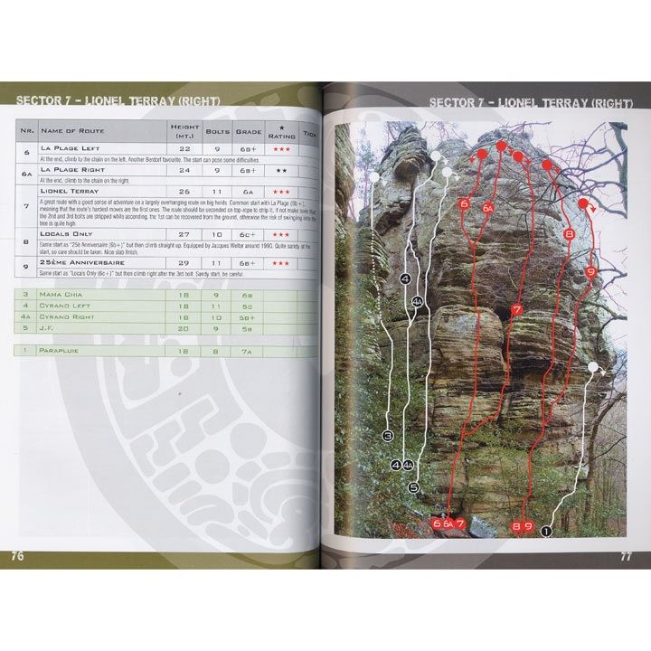 Climbing in Berdorf pages