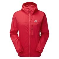 Mountain Equipment Women's Aerofoil Jacket Capsicum Red