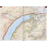 The Coast to Coast Walk Map Booklet pages