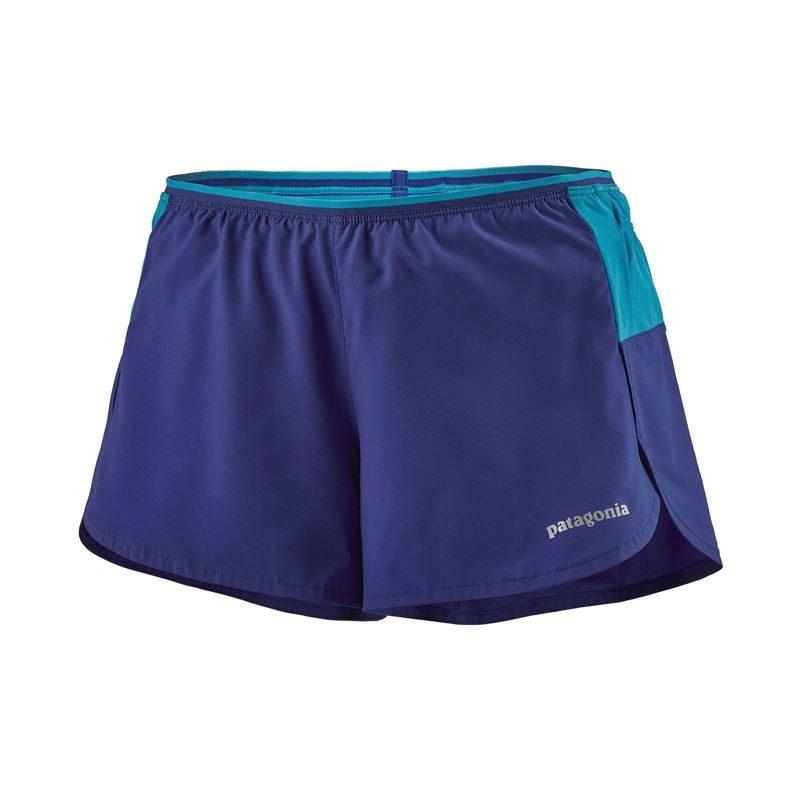 "Patagonia Women's Strider Pro Running Shorts 3"" Cobalt Blue"