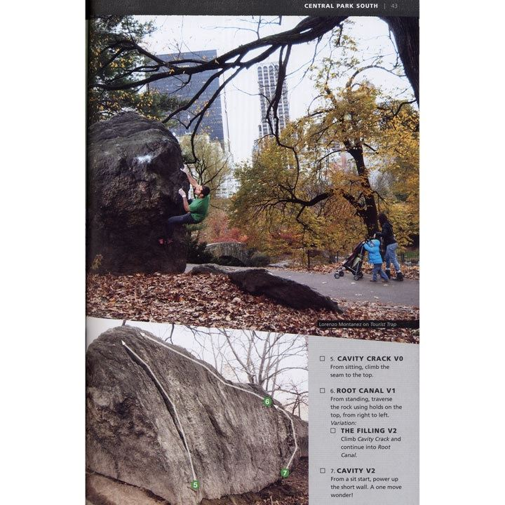 NYC Bouldering page