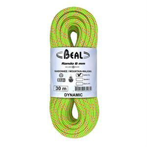 Beal Rando 8mm 30m Walkers' Confidence Rope Golden Dry
