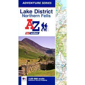 A - Z Lake District Northern Fells Atlas
