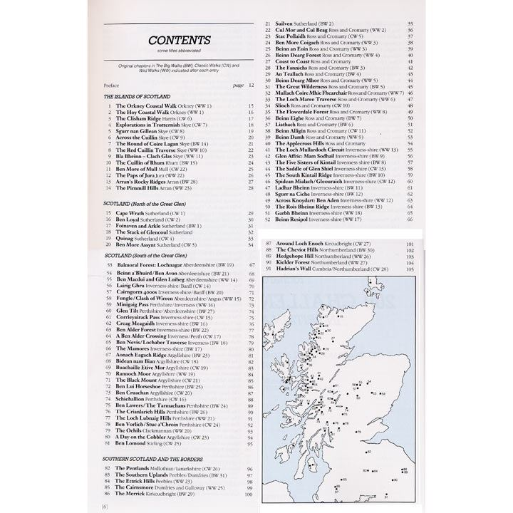 200 Challenging Walks in Britain and Ireland coverage