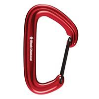 Black Diamond Litewire Karabiner Red