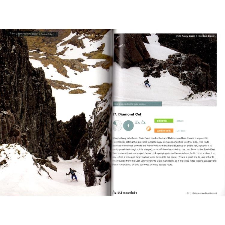 Scottish Offpiste Skiing  and  Snowboarding - Glencoe pages