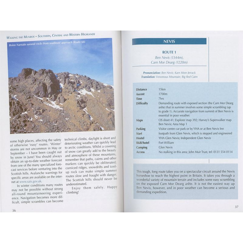 Walking the Munros Volume 1: Southern, Central and Western Highlands pages