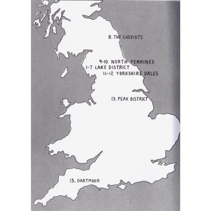 Mountains of England and Wales - Volume 2 England coverage
