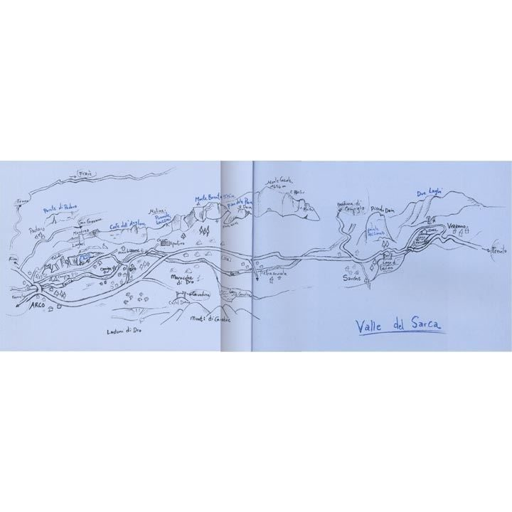 Climbing Routes in the Sarca Valley coverage
