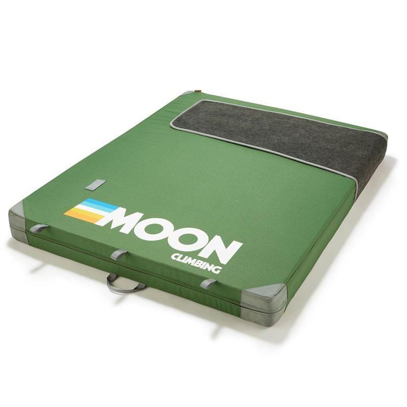 Moon Warrior Crashpad Retro Stripe Green