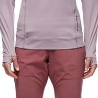 Black Diamond Women's Alpenglow Pro Hoody Wood Violet