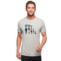 Black Diamond Men's Cam Family Tee Nickel Heather