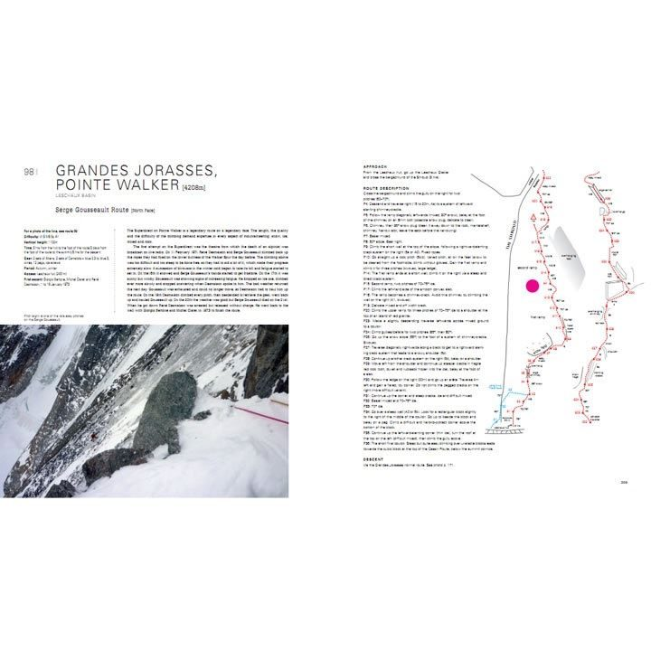 Mont Blanc - The Finest Routes pages