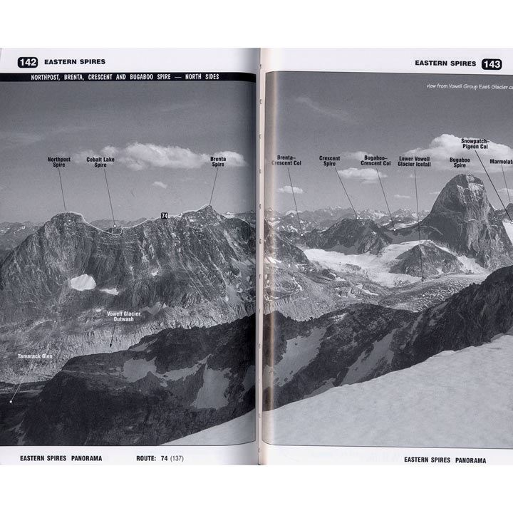 The Bugaboos pages