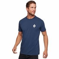 Black Diamond Men's Double Diamond Tee Ink Blue