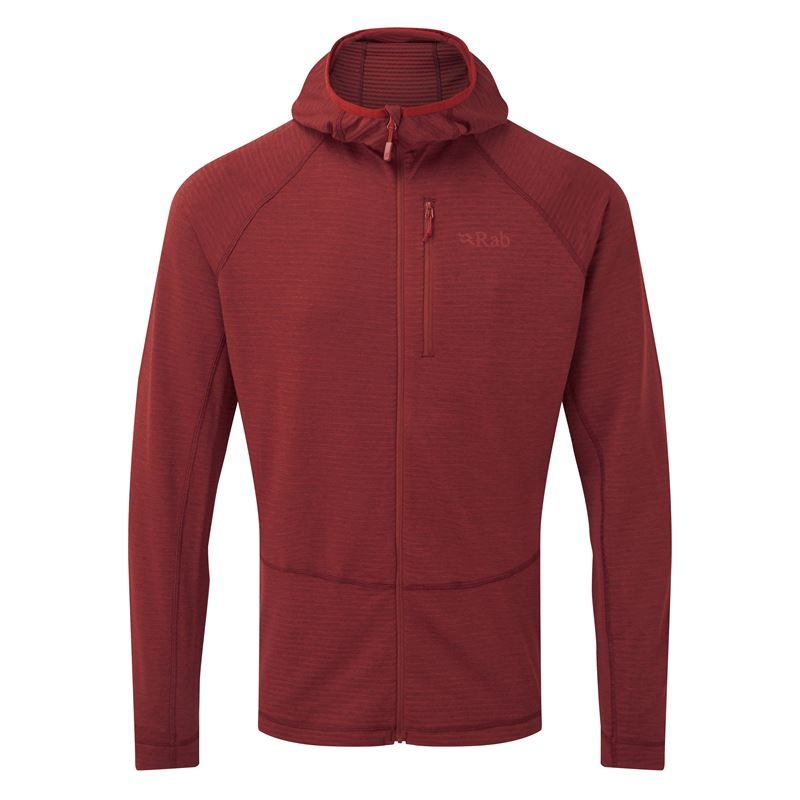 Rab Men's Filament Hoody Oxblood Red